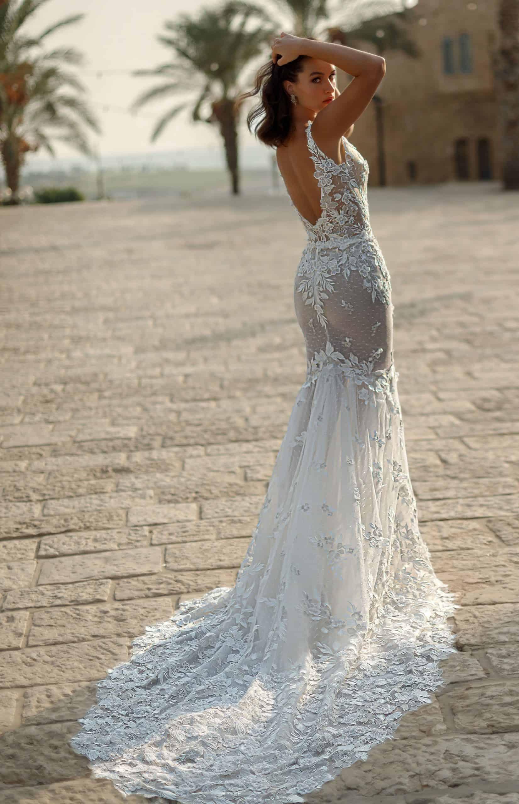 Dallas Classic Strapless Mermaid Wedding Dress | Rebecca