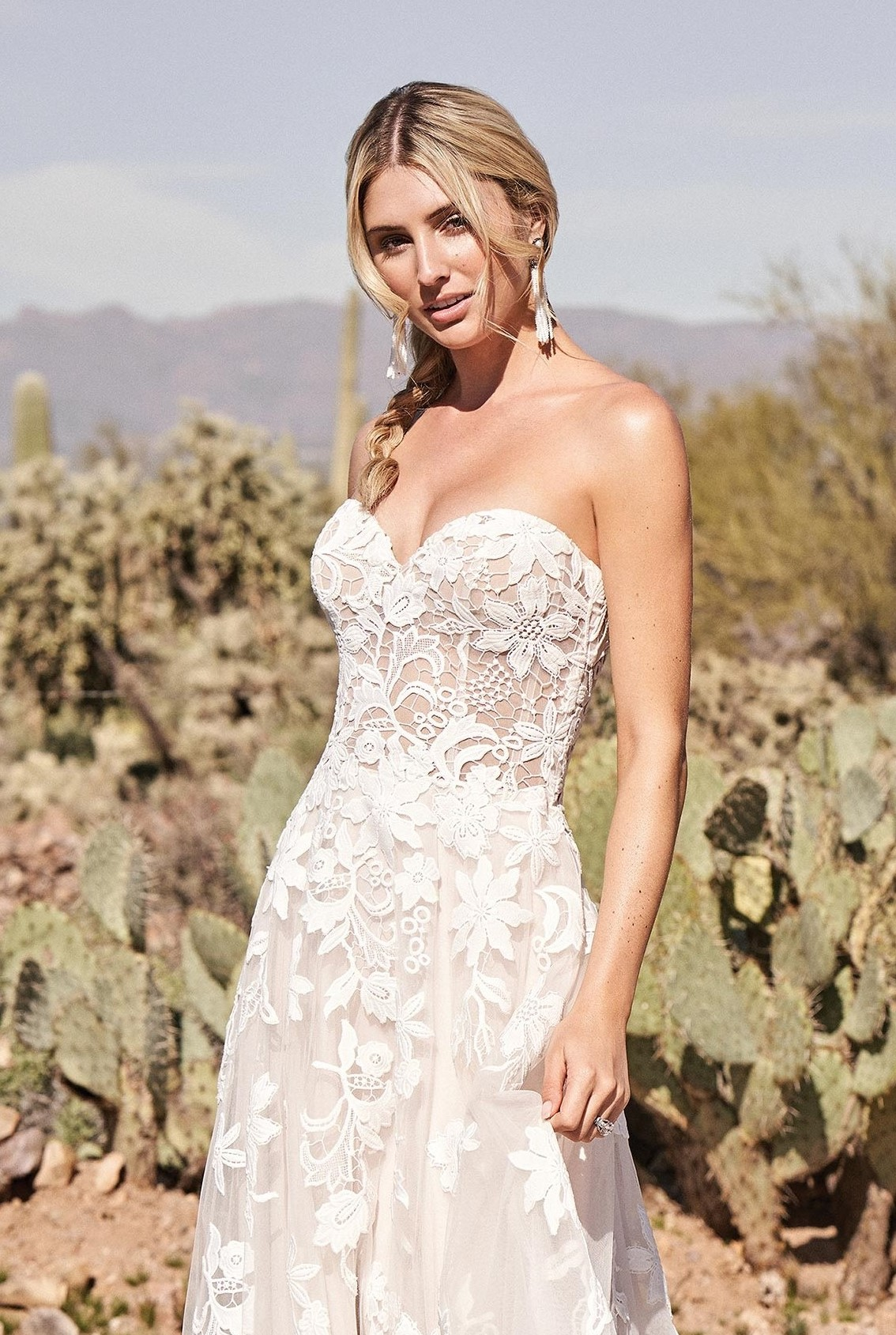 Romantic Sweet Heart Wedding Dress