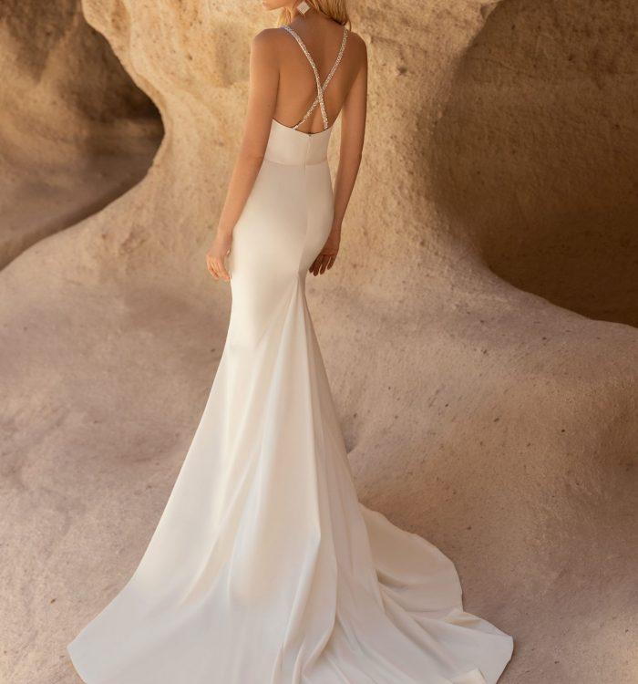 simple summer wedding dress