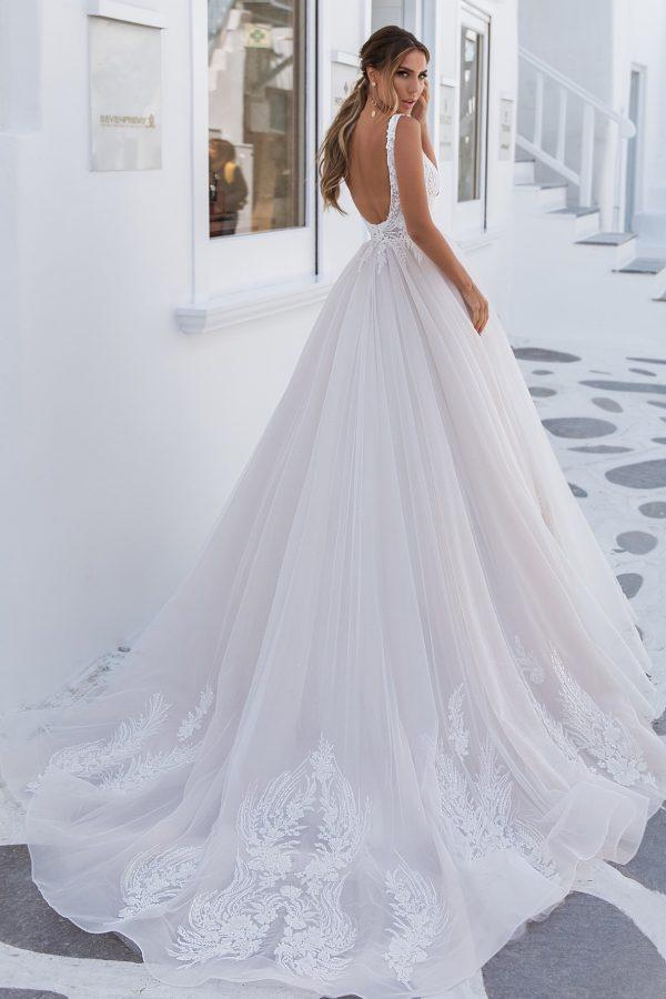 modern ball gown wedding dress