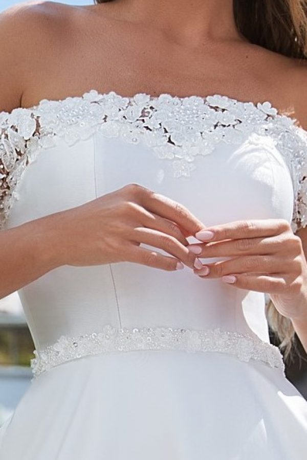plain a-line dress