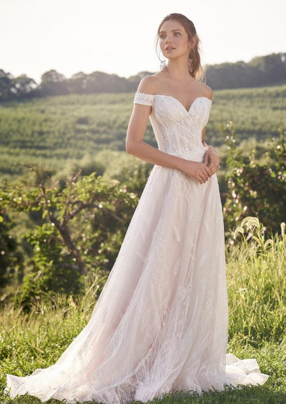 Wildness Wonder A-Line Wedding Dress